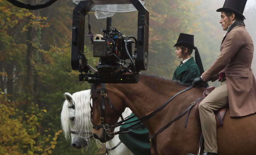 On Location with Victoria and The Crown
