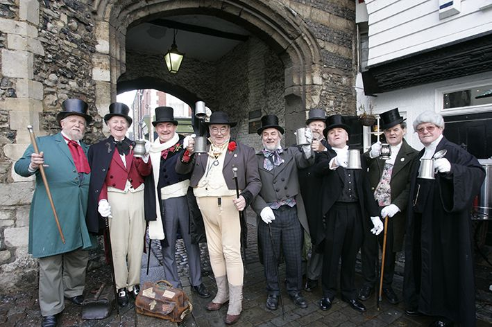Fairytale Castles at Christmas and Meet Mr Pickwick