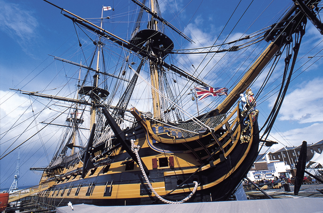 The Flagship of Maritime England