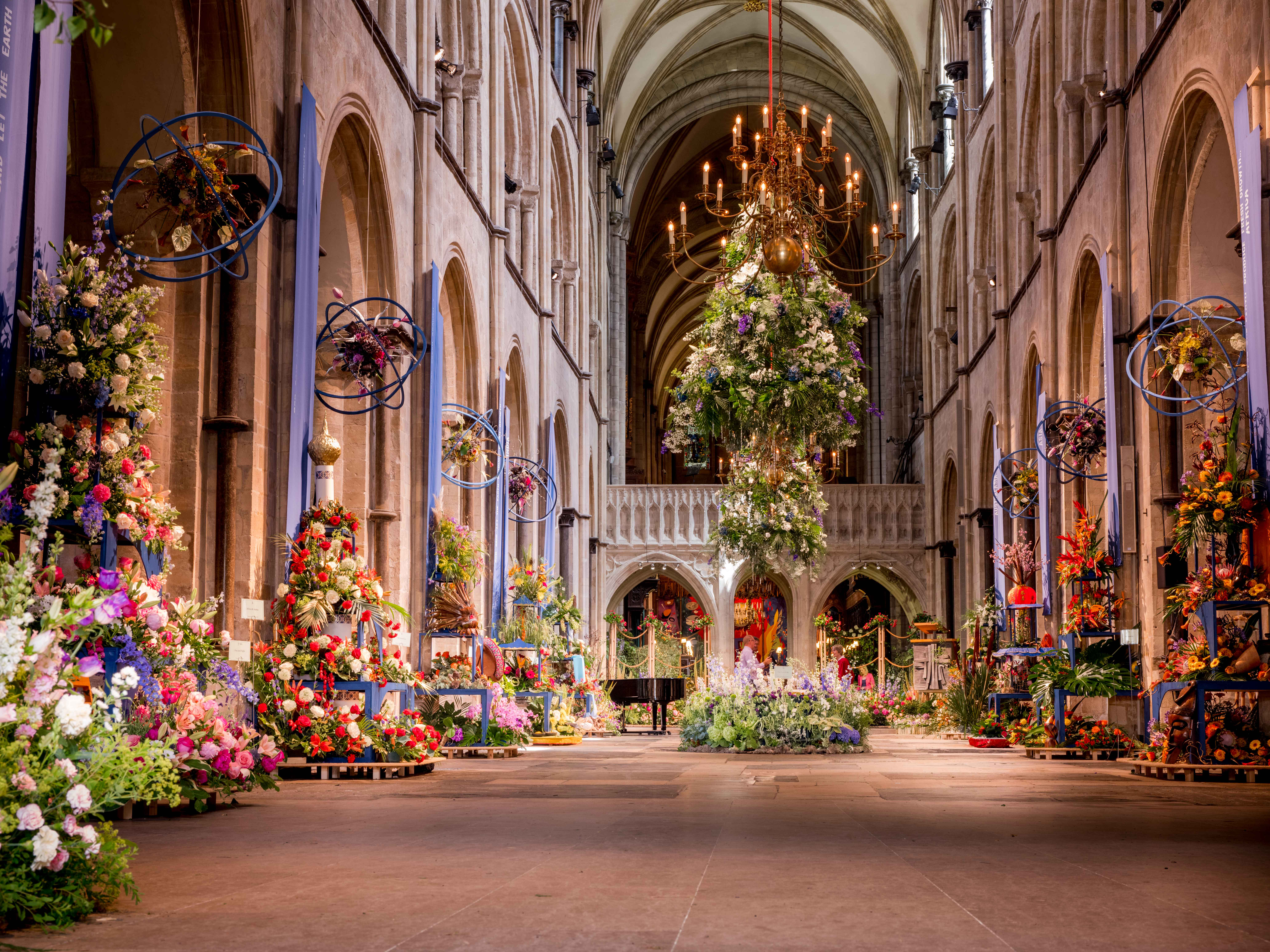 Floral Displays at Chelsea and Chichester
